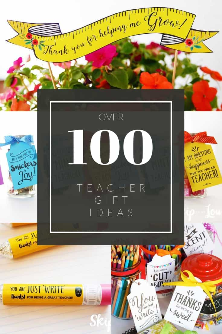 teacher gifts Pinterest Graphic