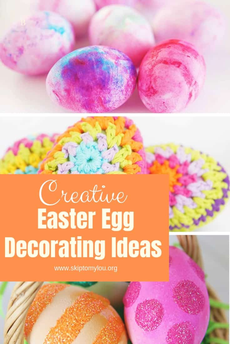 Easter Egg Deocrating Ideas Pinterest Graphic