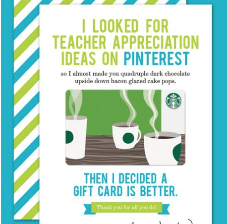 Free Printable Teacher Appreciation Cards To Say Thank You Teacher!