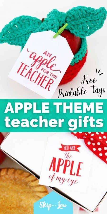 apple theme teacher gifts PIN