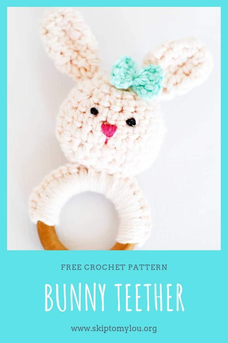 bunny teether Pinterest Graphic
