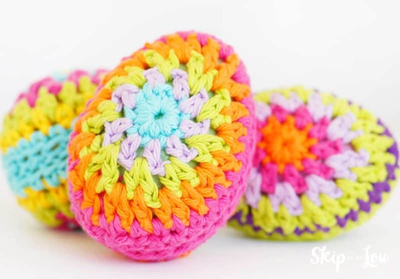 crochet egg pattern