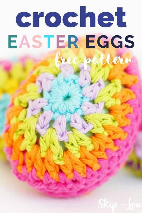 crochet easter eggs PIN