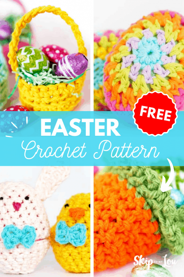 easter crochet pattern PIN