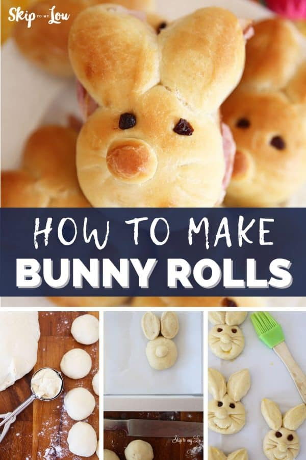 how to make bunny rolls PIN