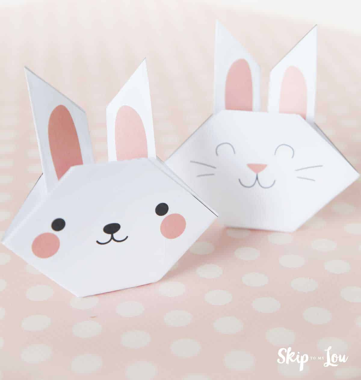How to Make an Origami Rabbit | Simple and Cute | 1263x1200