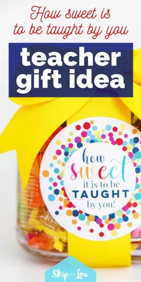 teacher gift idea PIN
