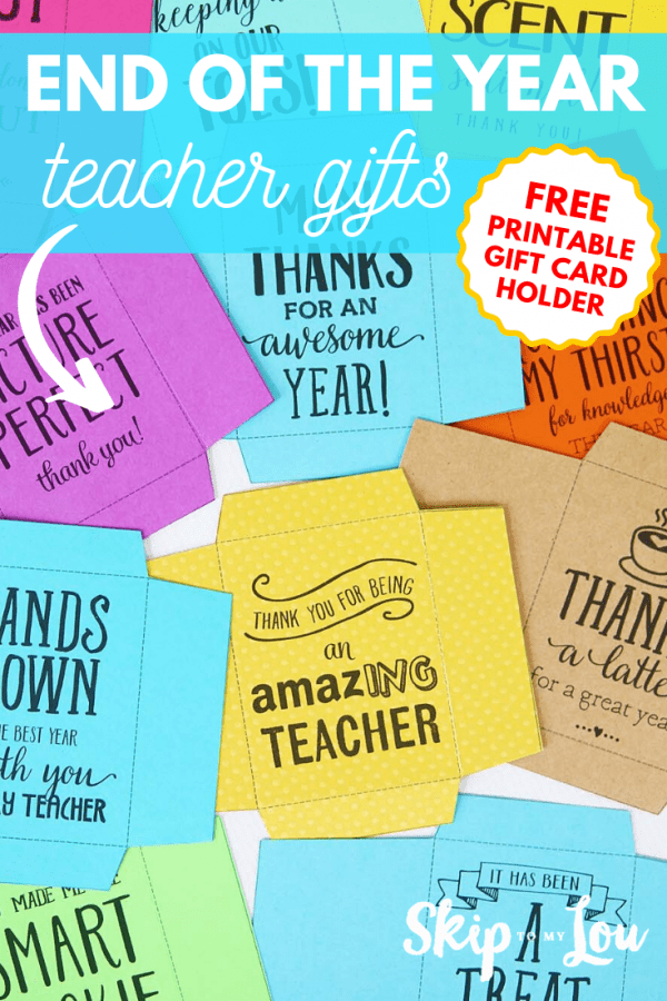 end of year teacher gifts PIN