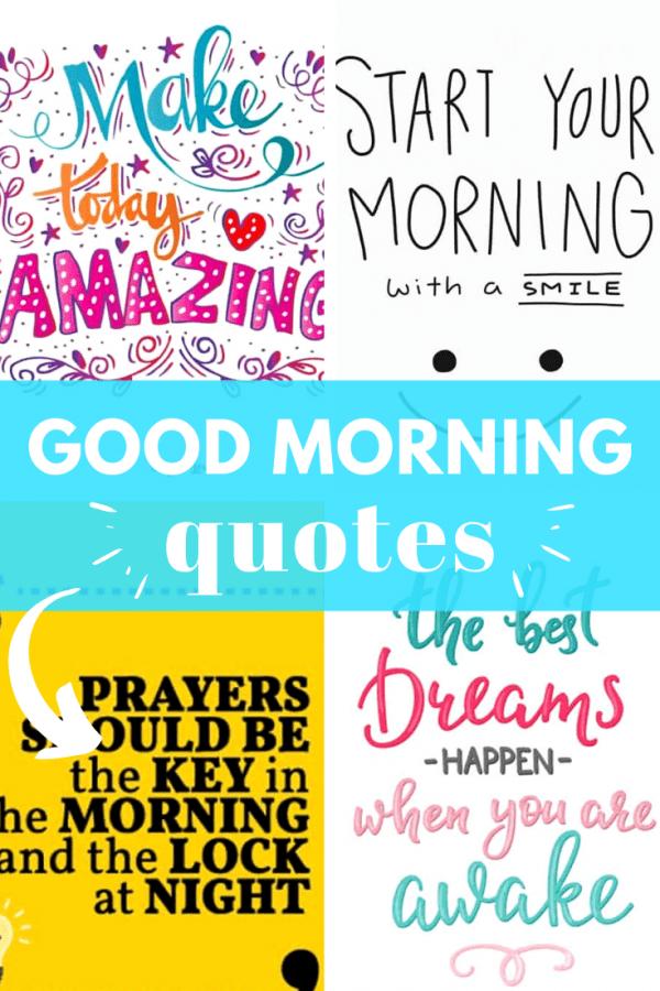 good morning quotes PIN