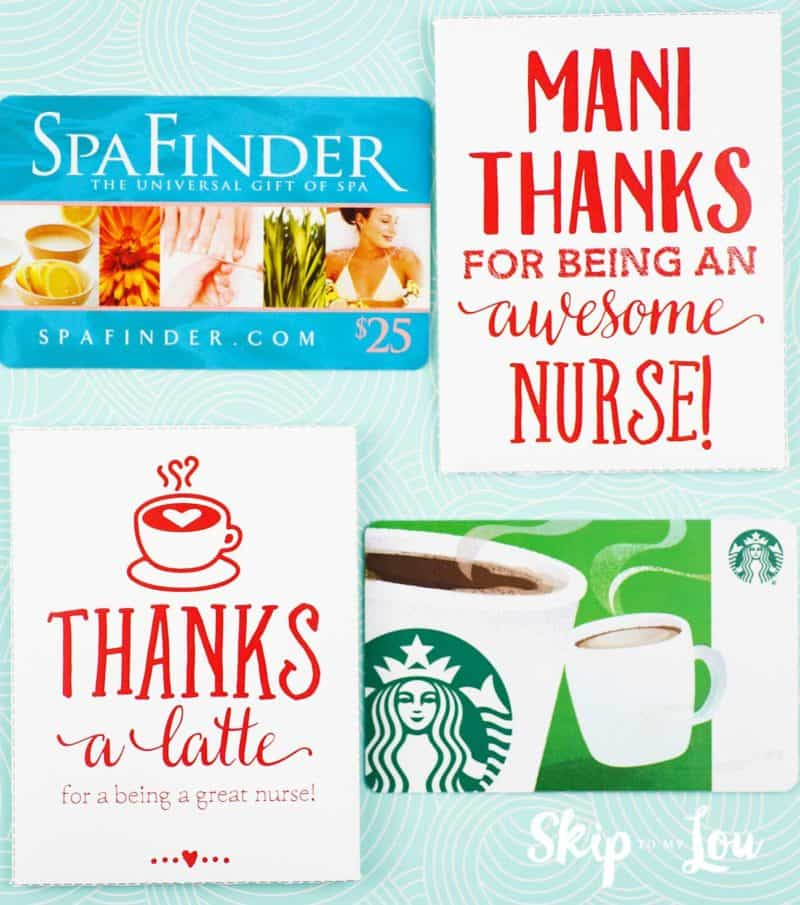 nurse gift card holders