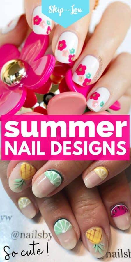 summer nail designs PIN