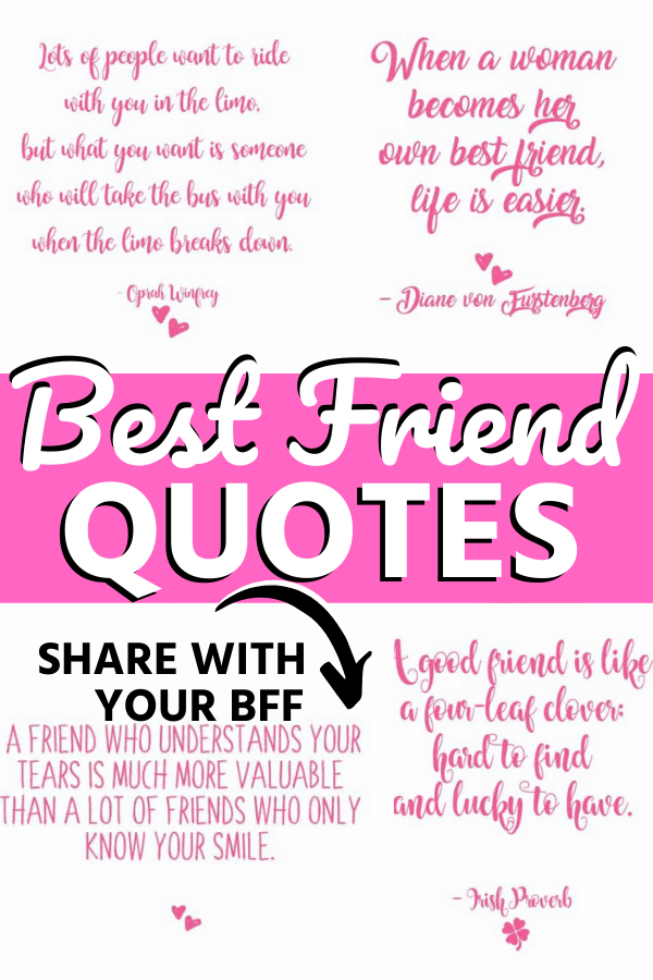 20 Awesome Best Friend Quotes To Share With A Friend Skip To My Lou