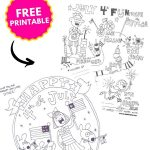 fourth of july coloring pages printable PIN