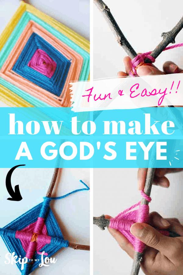 how to make god's eye tutorial PIN