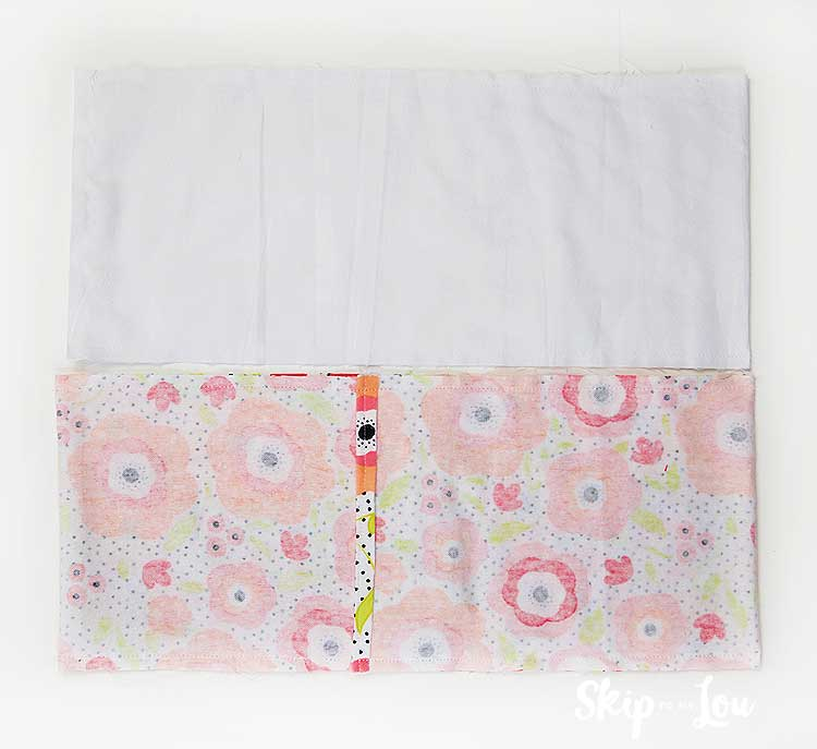 sew rice bag cover and liner
