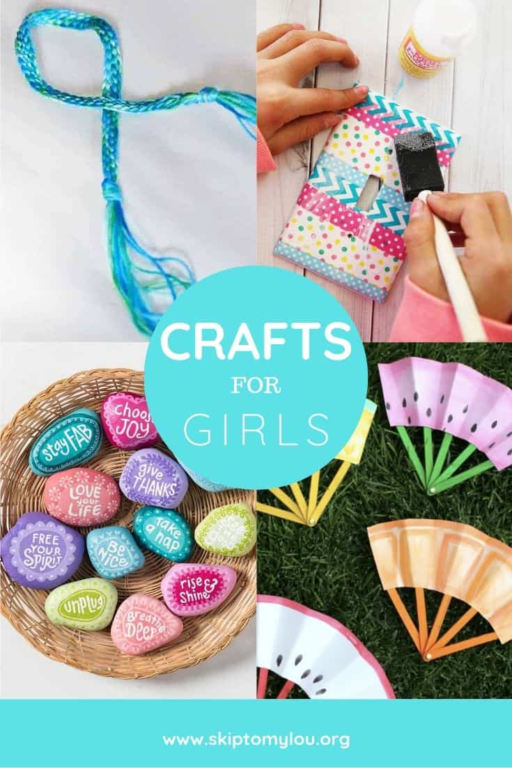 crafts for girls collage