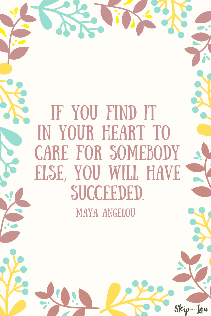 Maya Angelou quote success