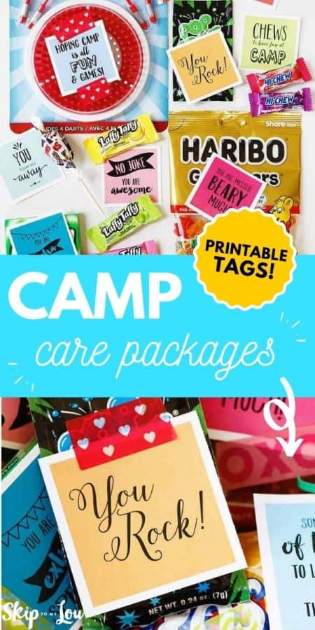 camp care packages PIN