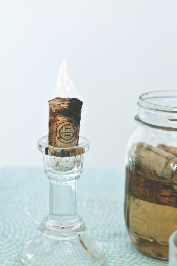 cork candle