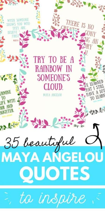 inspiring maya angelou quotes PIN
