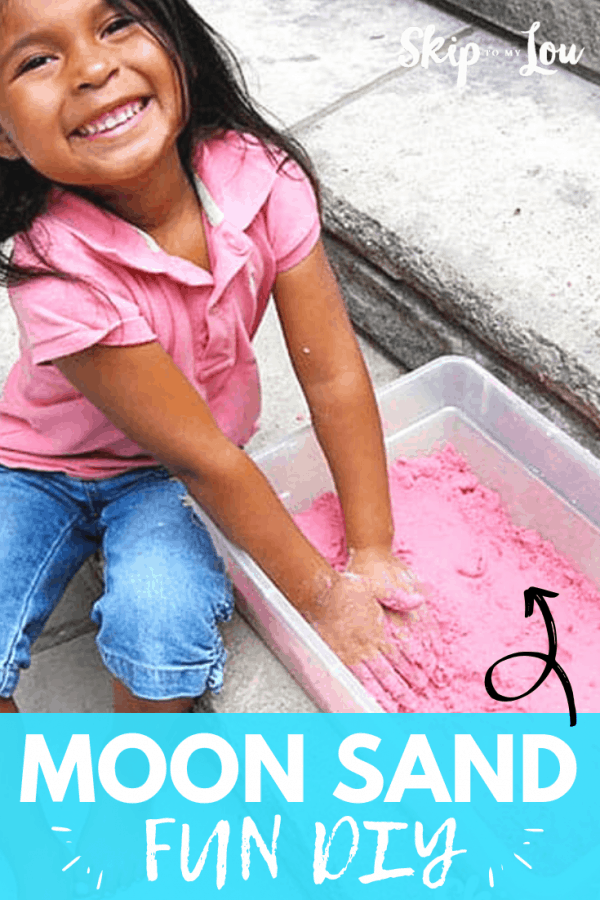 moon sand fun diy recipe PIN