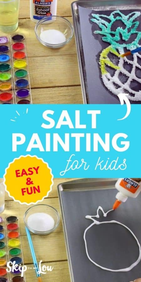 salt painting for kids PIN