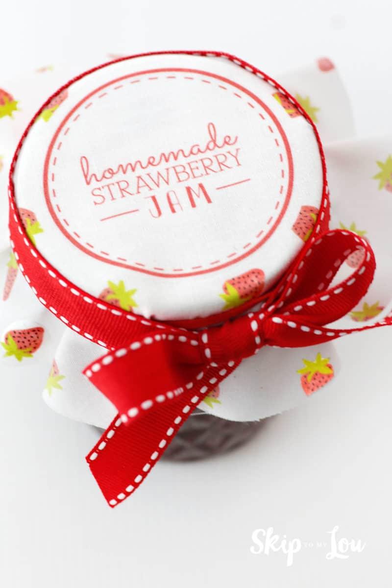 strawberry jam gift