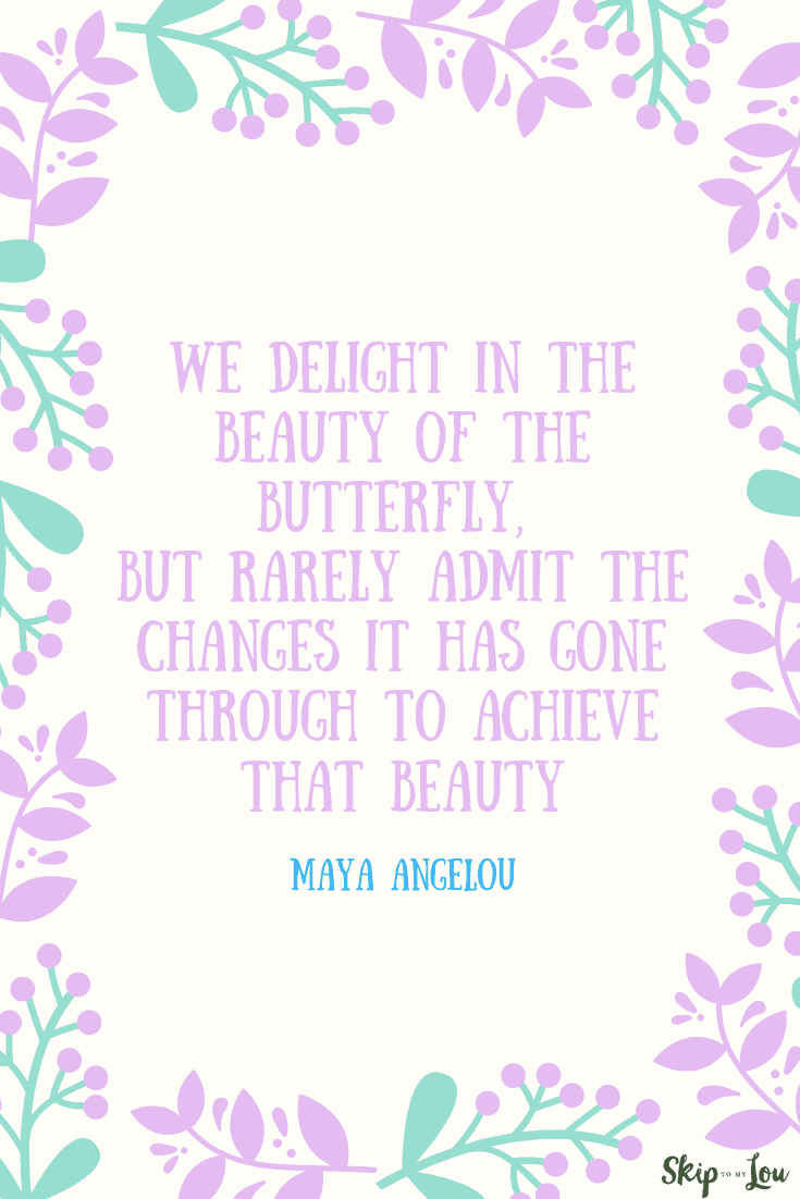 we delight in the beauty maya angelou