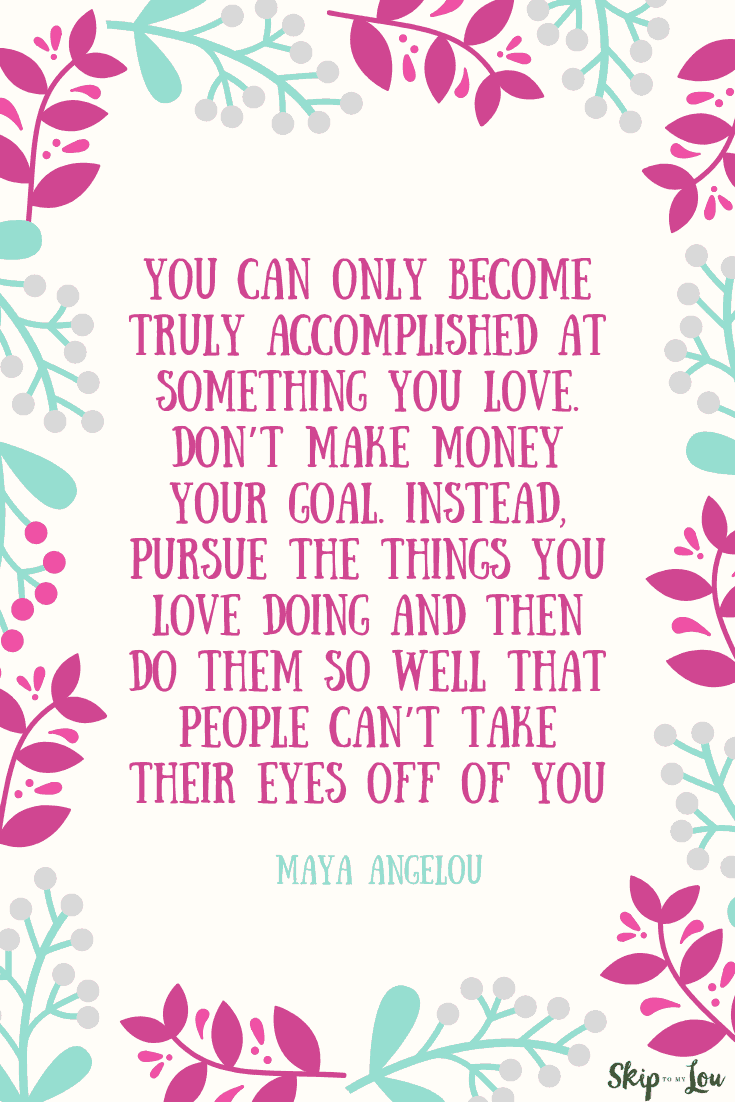 you can only become accomplished maya angelou quote