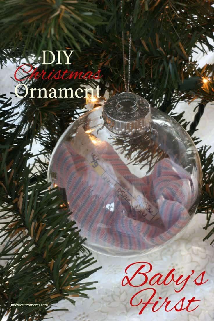 Baby keepsake ornament