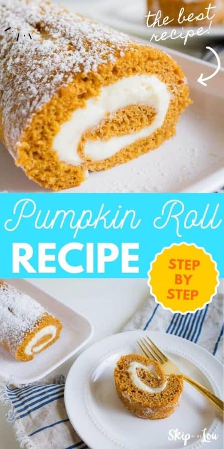 best pumpkin roll recipe PIN