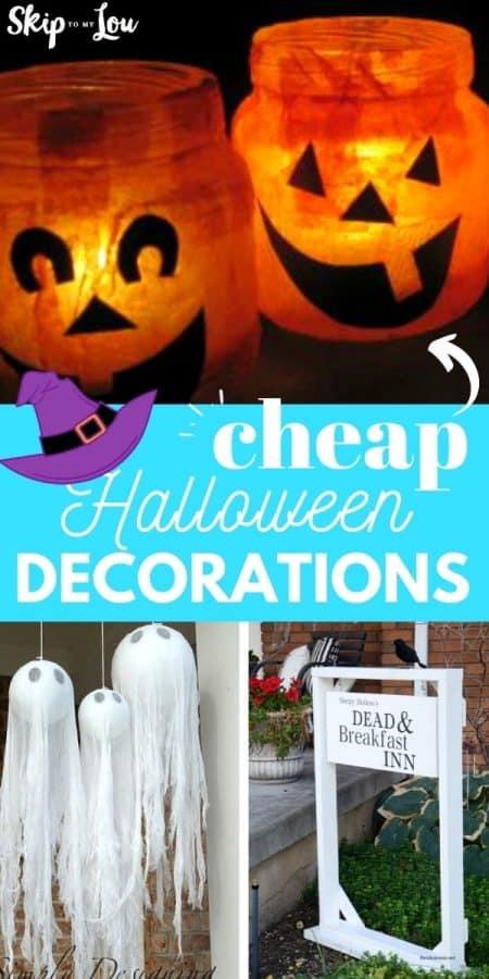 cheap halloween decorations PIN