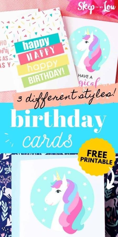 printable birthday cards PIN
