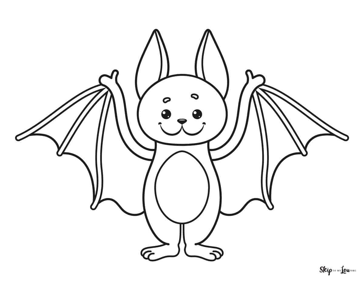 Cute Halloween Coloring Pages to print and color! | Skip ...