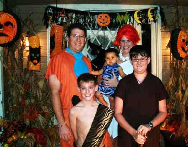 flintstones family cosutmes