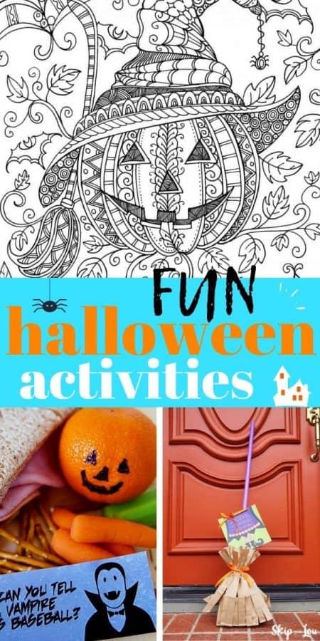 fun halloween activities PIN