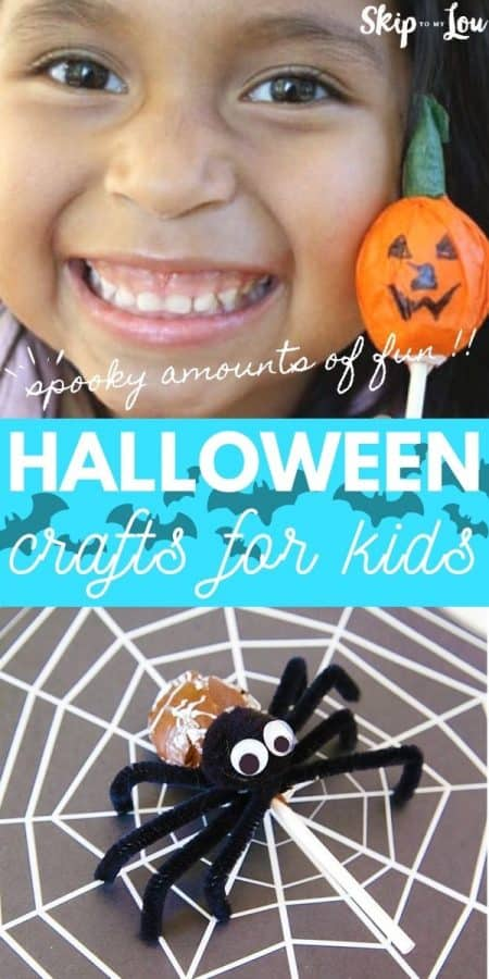halloween crafts for kids PIN