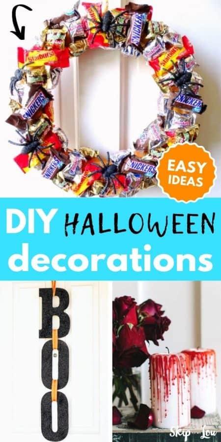 halloween decorations PIN