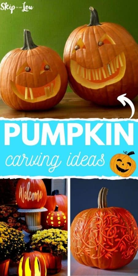 pumpkin carving ideas PIN