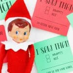 Elf with notes