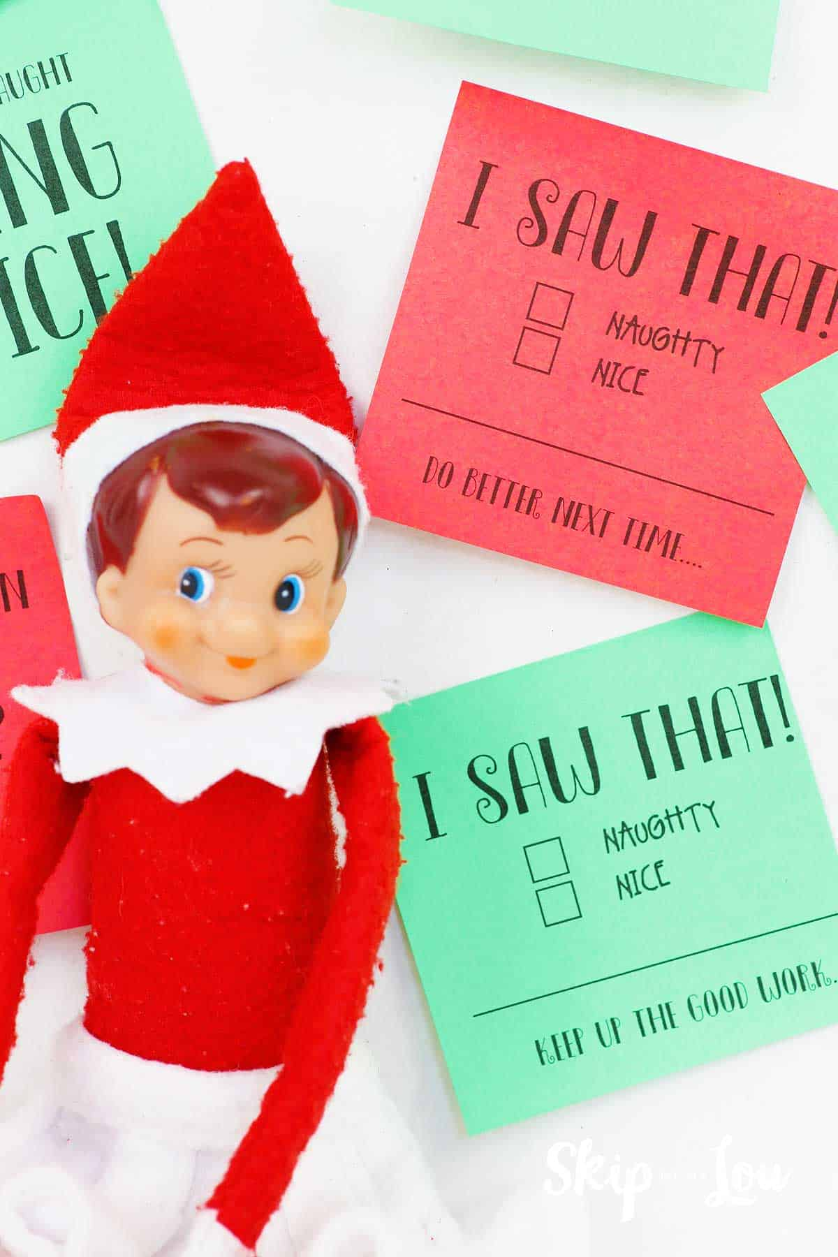 Free Printable Elf On The Shelf Notes For The Entire Month Skip To My Lou