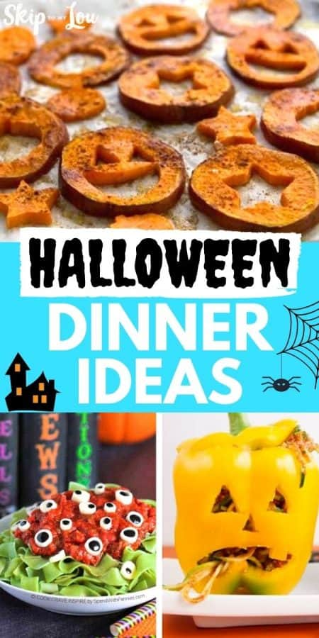 halloween dinner ideas PIN