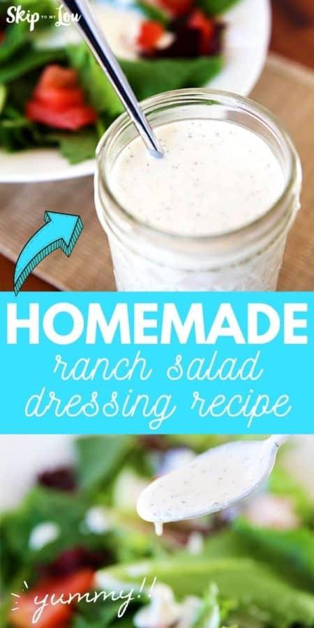 homemade dressing recipe PIN