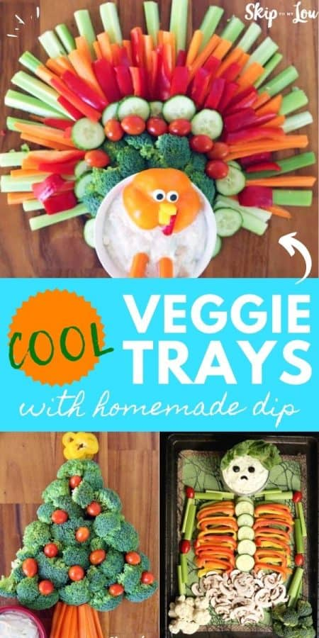 veggie tray ideas PIN