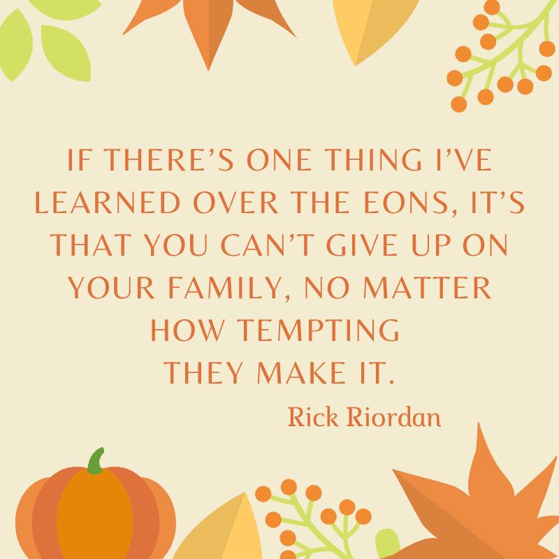 Rick Riordan quote