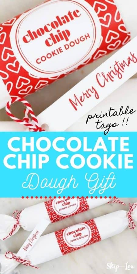 chocolate chip cookie dough gift PIN