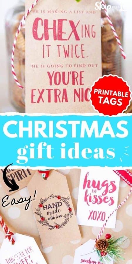christmas gift tags PIN