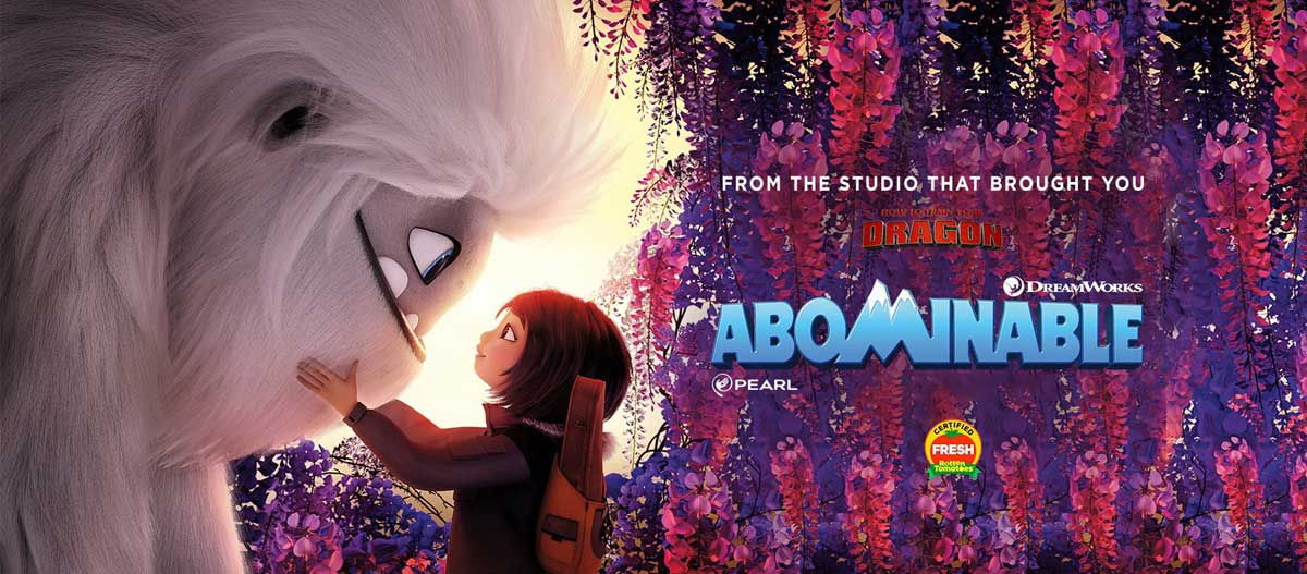 Abominable movie banner