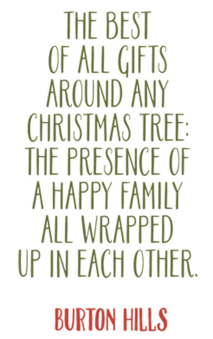 christmas quote by burton hills