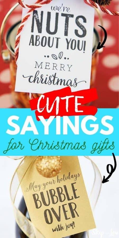 christmas gift sayings PIN